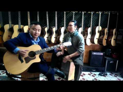 TÂY DU KÝ - Độc tấu Guitar Văn Anh   Trống Cajon: Văn Hồ Đắc