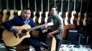TÂY DU KÝ - Độc tấu Guitar Văn Anh|| Trống Cajon: Văn Hồ Đắc