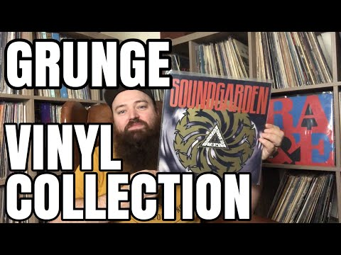 My GRUNGE Vinyl Record Collection! Nirvana, Pearl Jam, Soundgarden and more!
