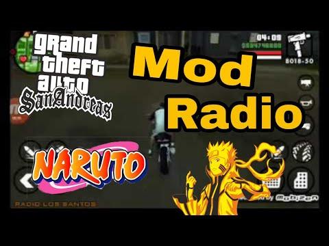GTA SA Android Mod Radio Naruto