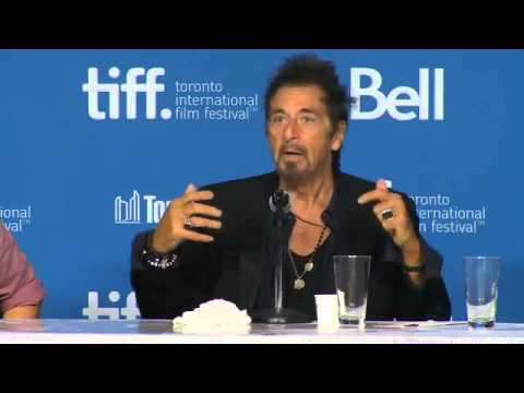 MANGLEHORN • Al Pacino & Holly Hunter • Press Conference TIFF 2014