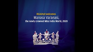 Hyderabad's own Manasa Varanasi, #VLCC #Femina #MissIndiaWorld, 2020 had to say about coming home.
