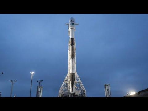 Aviso Para a Live do Falcon 9 Com Iridium e Grace FO