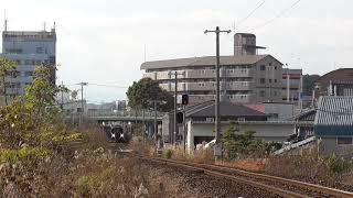 【鉄道走行動画】JR土讃線 薊野→土佐一宮 回送列車〈3輌編成〉
