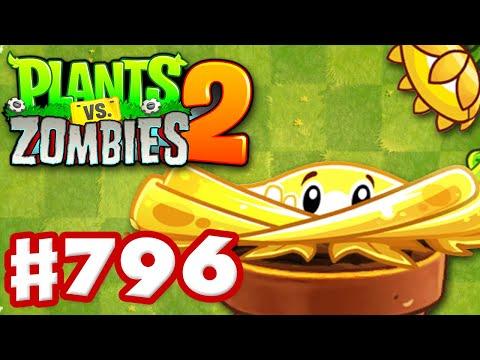 Shine Vine! New Plant! - Plants Vs. Zombies 2 - Gameplay Walkthrough Part 796
