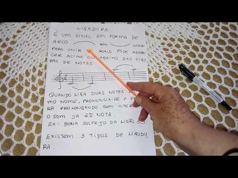 Teoria musical-  ligaduras