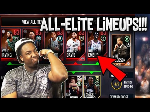 BUILDING ALL ELITE LINEUPS!!! ROAD TO THE TOP NBA LIVE MOBILE 18 S2 EP. 4!!!