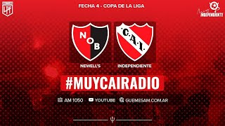 NEWELL´S - INDEPENDIENTE EN VIVO / COPA DE LA LIGA