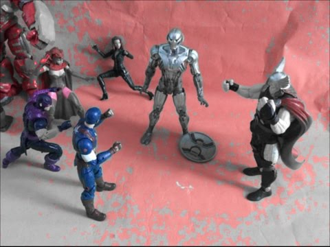 Avengers:Age of ultron Stop Motion 2/2 Consequences