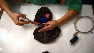 Сумочка с фермуаром(Сумочка с фермуаром Видео мастер-классы от разных мастеров по различным видам рукоделия помогут вам в твор..., 2015-03-30T09:08:54.000Z)