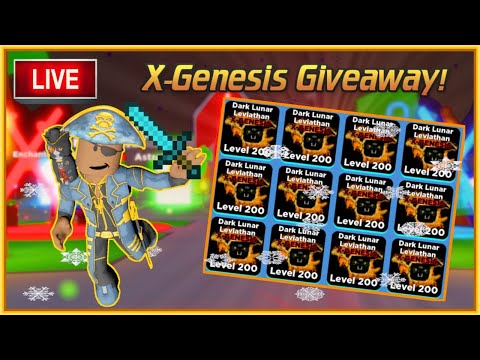 Ninja Legends Pet Giveaway! | X-Genesis Pet Giveaway LIVE (1/19)
