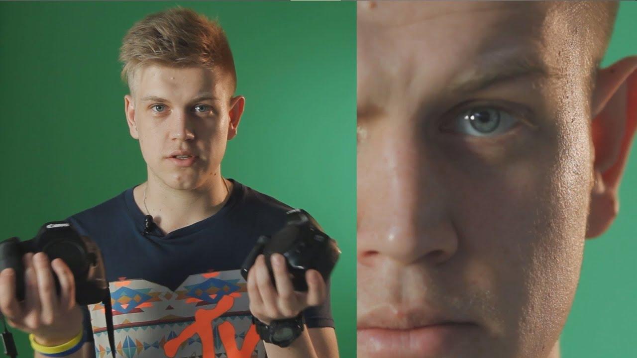 Основы видео для фотографов 2.  Разница между кропнутой камерой и фуллфрэймом