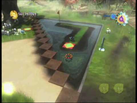 Viva pinata tip caddy candary 39 s mini golf course youtube for Viva pinata garden designs