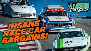 How to race $3 million cars for $15k!
