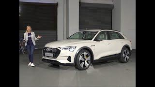 A bord de l'Audi e-tron (2018)