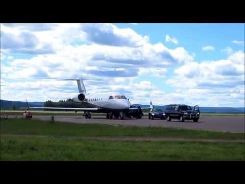 Private jet of a Saudi-Arabian prince.