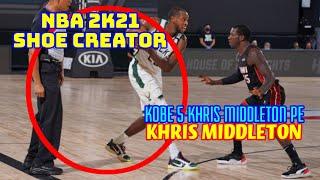 NBA Shoe Creator KOBE 5 KHRIS MIDDLETON PE KHRIS MIDDLETON / NBA 2K21