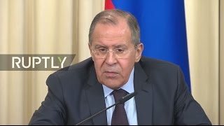 LIVE: Lavrov and OSCE SG Zannier talk to press in Moscow thumbnail