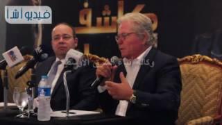 """بالفيديو: حسين فهمى يحكى تجربته فى برنامج """"كاشف الأسرار"""""""