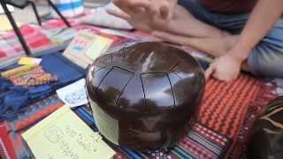 왓집 맹글엉폴장에 등장한 재밌는 악기 하피드럼