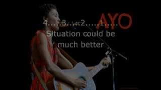 Lyrics: Ayo - Help is coming