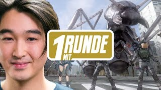 1 Runde mit Earth Defense Force 4.1: The Shadow of New Despair mit Budi & Ian