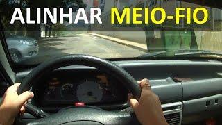 MACETE para ALINHAR o CARRO ao MEIO-FIO - VISÃO DO MOTORISTA