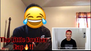Kyle Exum - The Little Brother Rap (REACTION)