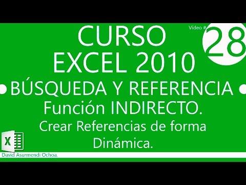 Curso Excel 2010. Fórmulas: Referencias a otras Hojas y otros Libros ...