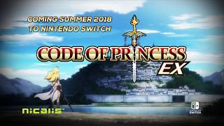 Code of Princess EX Nintendo Switch Announcement Trailer