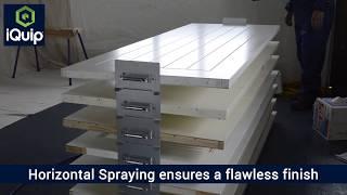 Fastest way to paint doors - Metal Door Stackers!