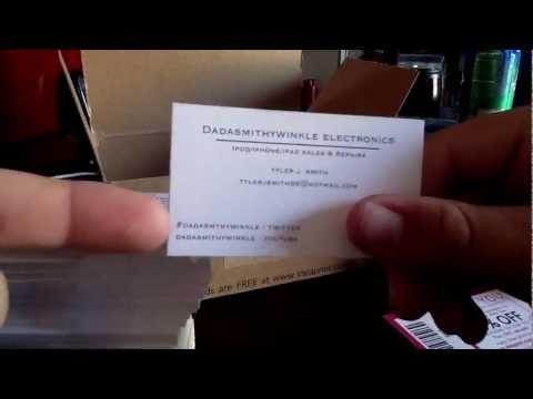 FREE 250 VISTA PRINT BUSINESS CARDS!!!
