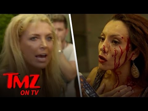 CRAZY Reality TV Fight: Rich, Famous & Bleeding! | TMZ TV
