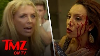 CRAZY Reality TV Fight: Rich, Famous & Bleeding! (TMZ TV)