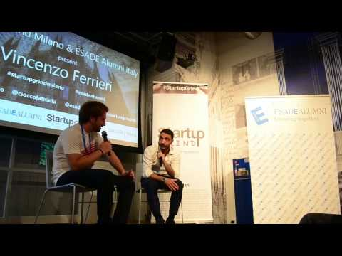 Vincenzo Ferrieri (CioccolatItaliani) at Startup Grind Milan