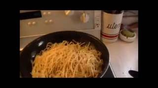 This Video Previously Contained A Copyrighted Audio Track. Due To A Claim By A Copyright Holder, The Audio Track Has Been Muted.     Reheating Spaghetti