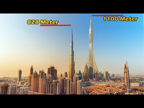 Most Difficult Upcoming Projects of Dubai….  TheInfoDost dubai dubai creek tower dubai creek tower