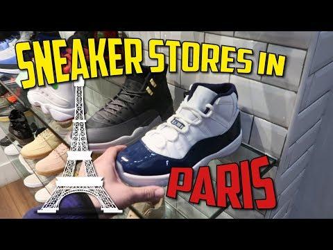 Visiting Sneaker Stores In Paris France