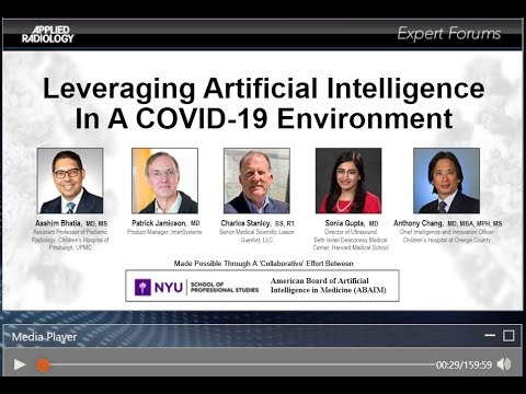 Webinar: Leveraging Artificial Intelligence in a COVID-19 Environment