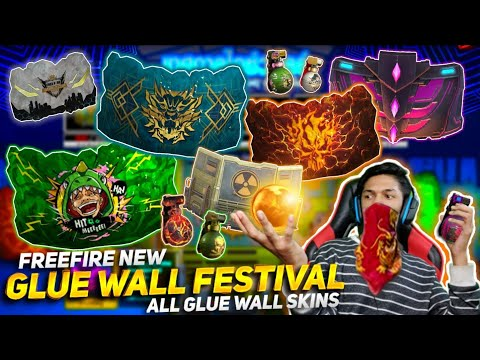New Gloo Wall Festival Event And I Got New Gloo Wall Skins And New BackPack Skin At Garena Free Fire