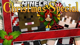 Minecraft CHRISTMAS IN A HOLE (Throwback)