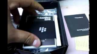 Unboxing a Blackberry 9300
