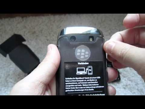 Unboxing BlackBerry Torch 9860