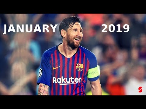 "Lionel Messi January 2019 ● The Little Magician ● ""Gyal You A Party Animal"""