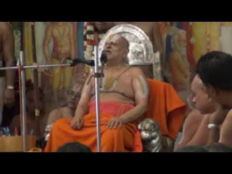 Srimushnam Andavan Anugraha Bhashanam on Srirama Navami 2012