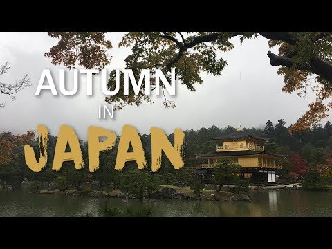 Autumn in Japan - Tokyo and Kyoto