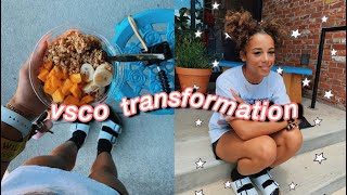 Transforming into the ULTIMATE Vsco Girl | Azlia Williams