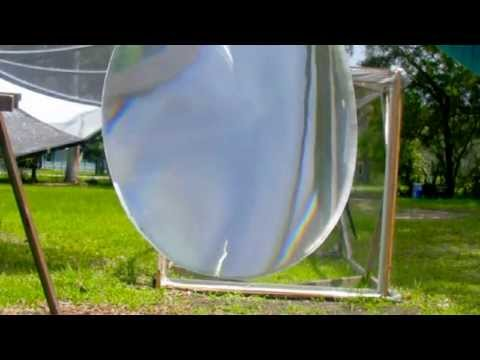 Fresnel Lens Flexible 380mm solar Adhesive FREE glass adhesi