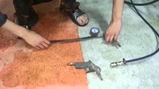 Ученик в шиномонтажке пытается подсоединить шланги | Юмор, ИНЖТЕХcервис