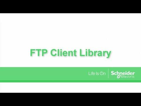 Tutorial SoMachine V4.3. - FTP Client Library